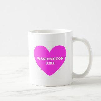 Washington-Mädchen Kaffeetasse
