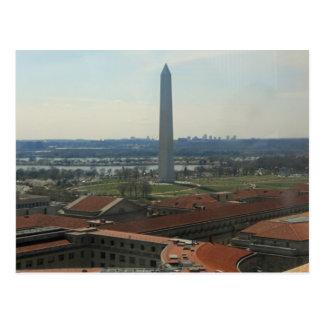 Washington-Monument-bundesstaatliches Dreieck 002 Postkarte
