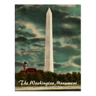 Washington-Monument durch Nachtpostkarte Postkarte