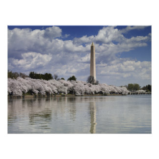 WASHINGTON-MONUMENT-LITHOGRAPHIE POSTER