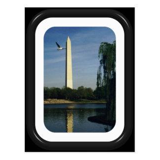 Washington-Monument Postkarte