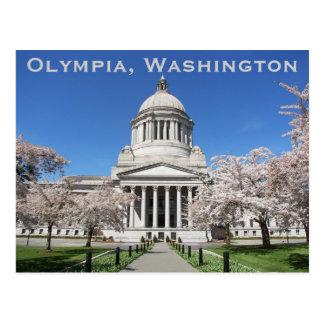 Washington-Staats-Hauptstadts-Reise-Foto Postkarte