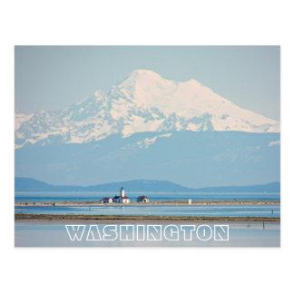 Washington-Staats-Reise Postkarte