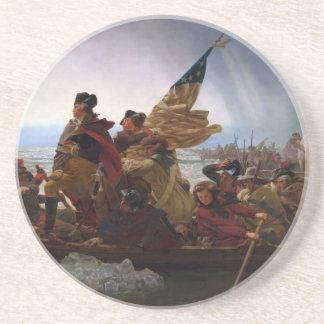 Washington Vintage US Kunst, das des Delawares - Getränkeuntersetzer