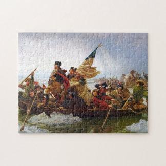 Washington, welches das Delaware-Puzzlespiel