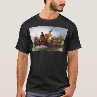 Washington, welches das Delaware-T-Shirt kreuzt T-Shirt