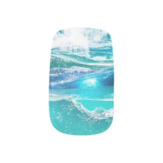 Wasser blendet Druck Minx Nagelkunst