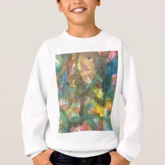 Wasser-Farbformen Sweatshirt