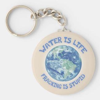 Wasser ist Leben Schlüsselanhänger