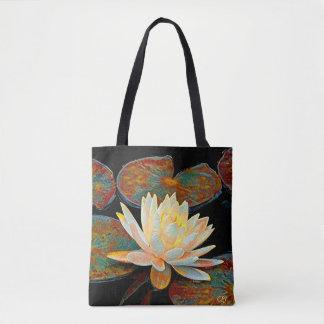 Wasser-Lilie Tasche