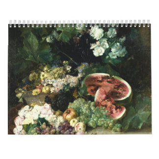 Wasser-Lilie zwei paginieren, Medium, weißer Abreißkalender