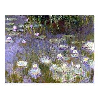 Wasser-Lilien (c.1922) durch Claude Monet Postkarte