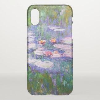Wasser-Lilien-Claude Monet-schöne Kunst iPhone X Hülle