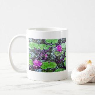 Wasser-Lilien-Tasse Kaffeetasse