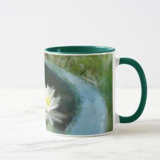 Wasser-Lilien-Tassen-Wecker-Tasse Tasse