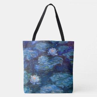 Wasser-Lilien-Teich im Blau durch Claude Tasche