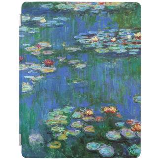 Wasser-Lilien-Teich in blauer Monet schöner Kunst iPad Smart Cover