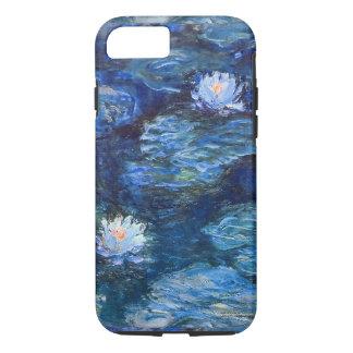Wasser-Lilien-Teich in blauer Monet schöner Kunst iPhone 8/7 Hülle