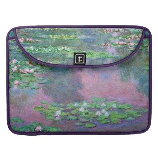 Wasser-Lilien-Teich-Reflexionen Monet schöne Kunst Sleeve Für MacBook Pro