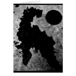 """""""Wasser-Pferd- u. Deckel"""" JTG Kunst-Gruß-Karte Karte"""