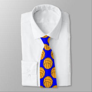 Wasser-Polo-Ball-gemusterte kundenspezifische Krawatte