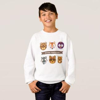 Wasser-Schutze -- Kinder niedliches 1 Sweatshirt