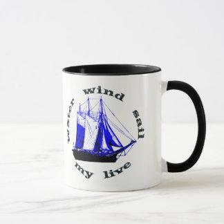 Wasser-Wind-Segel Tasse