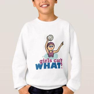Wasserball-Mädchen Sweatshirt