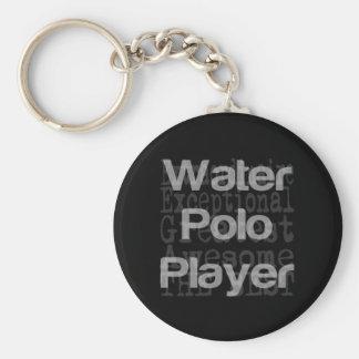 Wasserball-Spieler Extraordinaire Schlüsselanhänger