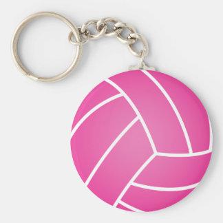 Wasserballschlüsselkette - Rosa Standard Runder Schlüsselanhänger