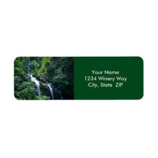 Wasserfall in Maui Hawaii