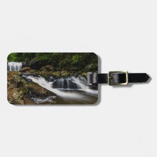 Wasserfall-Lippenfälle Gold Coast Australien Gepäckanhänger