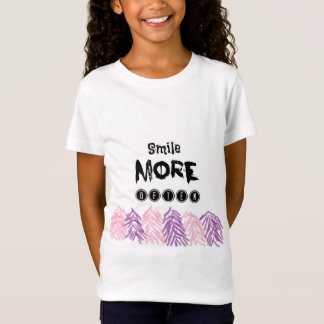 Wasserfarbmusterzitatt-shirt T-Shirt
