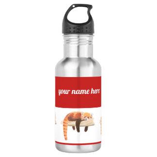 Wasserflasche des roten Pandas, heraus kühlend