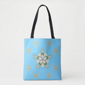 Wasserlilie-Schneeflocke Tasche