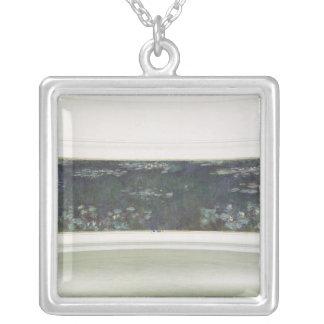 Wasserlilien Claudes Monet |, 1915-26 Versilberte Kette