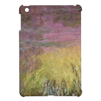 Wasserlilien Claudes Monet | am Sonnenuntergang iPad Mini Hülle