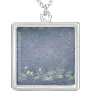 Wasserlilien Claudes Monet |: Morgen, 1914-18 Versilberte Kette