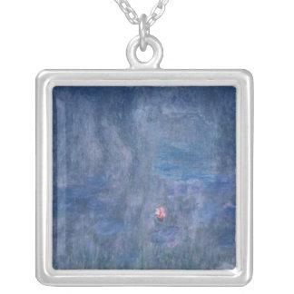 Wasserlilien Claudes Monet |: Reflexionen der Versilberte Kette