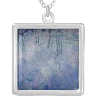 Wasserlilien Claudes Monet |: Weinende Weiden Versilberte Kette
