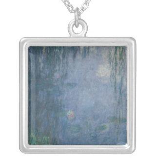 Wasserlilien Claudes Monet |: Weinende Weiden, Versilberte Kette