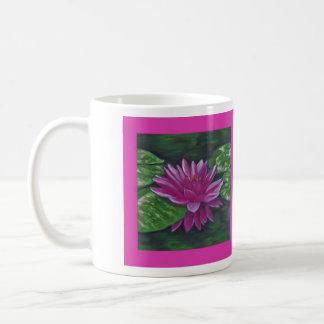 Wasserlilien-Tasse Tasse