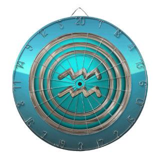 Wassermann - das Wasser-Träger-astrologische Dartscheibe