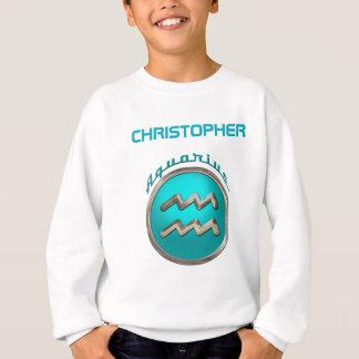 Wassermann - das Wasser-Träger-Tierkreis-Symbol Sweatshirt