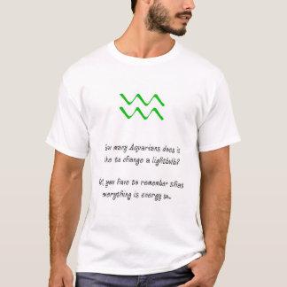 Wassermann-Glühlampen-Witz T-Shirt