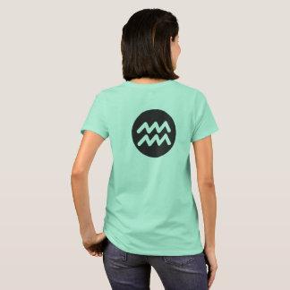 Wassermann-Meerwasser T-Shirt