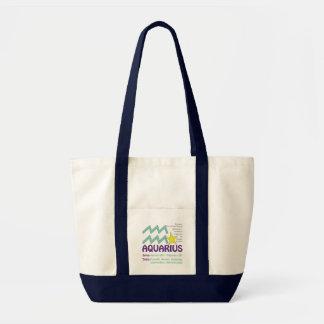 Wassermann-Merkmal-Taschen-Tasche Tragetasche