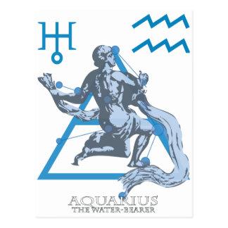 Wassermann Postkarte