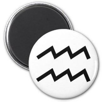Wassermann Runder Magnet 5,1 Cm