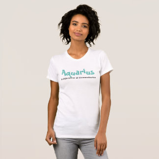 Wassermann - Unabhängiger u. Menschenfreund T-Shirt